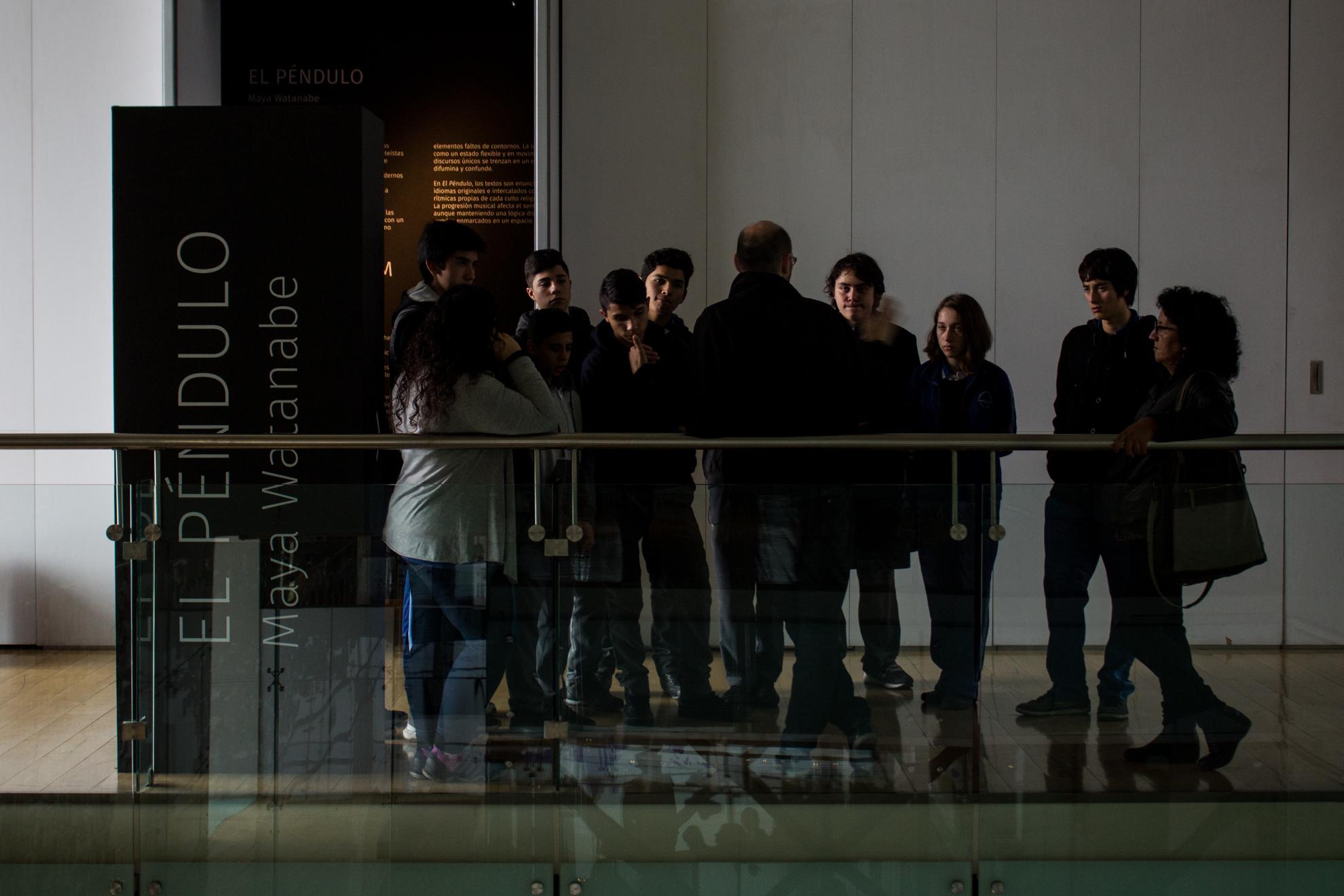 """Videoinstalación """"El Péndulo"""" en Museo de la Memoria y los Derechos Humanos"""