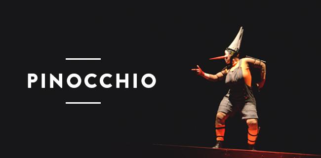 """""""Pinocchio"""" en Matucana 100"""