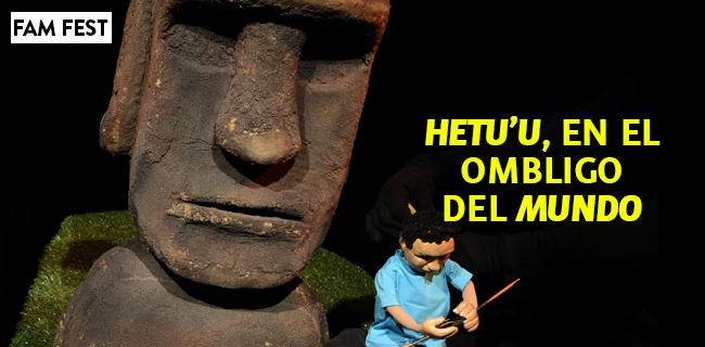 """""""Hetu'u en el ombligo del mundo"""" En Matucana 100"""