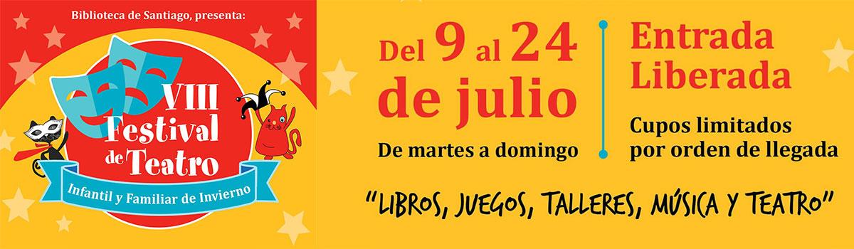 ¡Vacaciones de Invierno en la Biblioteca de Santiago!